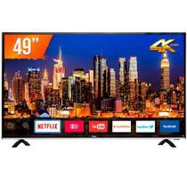 Smart TV LED 49'' Ultra HD 4K Philco PTV49F68DSWN 3 HDMI 1 USB Wi-Fi -