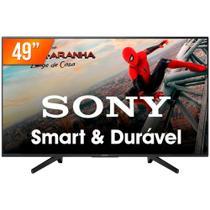 """Smart TV LED 49"""" Ultra HD 4K Sony KD-49X705F 3 HDMI 3 USB Wi-Fi -"""