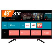 Smart TV LED 49 Ultra HD 4K Sony KD-49X705F 3 HDMI 3 USB Wi-Fi