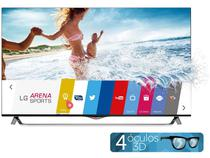 "Smart TV LED 4k Ultra HD 3D 49"" LG 49UB8500  - Conversor Integrado 4 HDMI 3 USB Wi-Fi 4 Óculos"