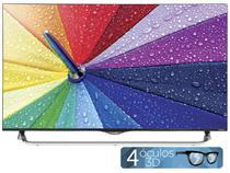 "Smart TV LED 4k Ultra HD 3D 49"" LG 49UB8550 WebOS - Conversor Integrado 4 HDMI 3 USB Wi-Fi 4 Óculos"