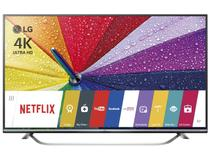 "Smart TV LED 4K Ultra HD 3D 49"" LG 49UF7700  - Conversor Integrado 3 HDMI 3 USB Wi-Fi"