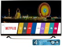 "Smart TV LED 4k Ultra HD 3D 49"" LG 49UF8500  - Conversor Integrado 3 HDMI 3 USB Wi-Fi"