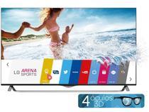 "Smart TV LED 4k Ultra HD 3D 55"" LG 55UB8500  - Conv. Integrado 4 HDMI 3 USB Wi-Fi 4 Óculos WebOS"