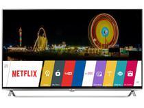 """Smart TV LED 4K Ultra HD 3D 55"""" LG 55UB8550  - Conversor Integrado 4 HDMI 3 USB 4 Óculos"""