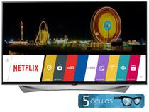 "Smart TV LED 4K Ultra HD 3D 55"" LG 55UF9500  - Conversor Integrado 4 HDMI 3 USB Wi-Fi 4 Óculos"