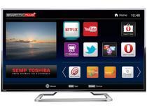 "Smart TV LED 4K Ultra HD 49"" Semp Toshiba 49L7400  - Conversor Integrado 3 HDMI 2 USB Wi-Fi"
