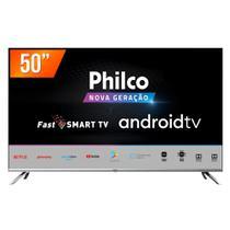 "Smart TV LED 50"" 4K Philco PTV50G71AGBLS 4 HDMI 2 USB WiFi -"