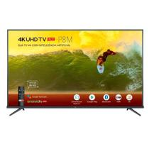 Smart TV LED 50 4K TCL 50P8M Comando de Voz HDR Bluetooth HDMI e USB