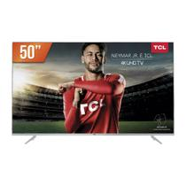 Smart TV LED 50 4K UHD TCL P6US 3 HDMI 2 USB - Toshiba