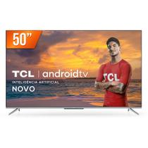 "Smart TV LED 50"" 4K Ultra HD TCL 50P715 3 HDMI 2 USB Android Wi-Fi Bluetooth -"