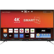 """Smart TV LED 50"""" AOC LE50U7970S, 4K, UHD, Wi-Fi, 2 USB, 4 HDMI, Sleep Timer e 60Hz -"""