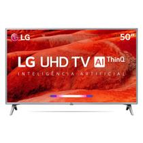 Smart TV LED 50 LG 50UM7500 UHD 4K Wi-Fi Conversor 4 HDMI -