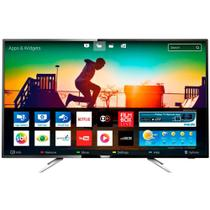 Smart TV LED 50 Philips 50 Polegadas 4K UHD Conversor Digital 4 HDMI 2 USB 50PUG6102 - Philips tv