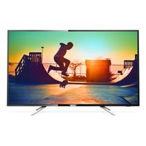 Smart TV LED 50 Philips 50PUG6102/78 UHD 4K com Conversor Digital 4 HDMI 2 USB Wi-fi 60hz - Preta