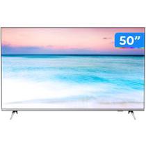 Smart TV LED 50 Philips 50PUG665478 Ultra HD 4k sem Bordas Wifi Bluetooth 3 HDMI 2 USB -