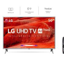 Smart TV LED 50 Polegadas UHD 4K HDR Wi-Fi Inteligência Artificial ThinQ AI 4 HDMI 2 LG -