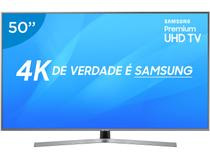 "Smart TV LED 50"" Samsung 4K/Ultra HD NU7400 - Tizen Conversor Digital Wi-Fi 3 HDMI 2 USB"