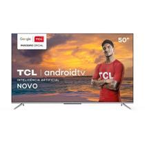 "Smart TV LED 50"" TCL 50P715 4K HDR com Wi-Fi, 2 USB, 3 HDMI, 60Hz -"
