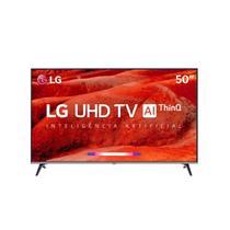 "Smart TV LED 50"" Ultra HD 4K LG 50UM 751C Inteligência Artificial 4 HDMI 2 USB WiFi -"