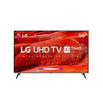 "Smart TV LED 50"" Ultra HD 4K LG 50UM 751C Inteligência Artificial 4 HDMI 2 USB WiFi -"