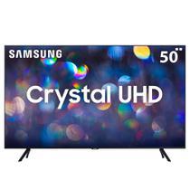 "Smart TV LED 50"" Ultra HD 4K Samsung TU8000 Processador Crystal 3 HDMI 2 USB -"