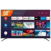 "Smart TV LED 50"" Ultra HD 4K TCL 50P8M Android 3 HDMI 2 USB Wi-Fi -"