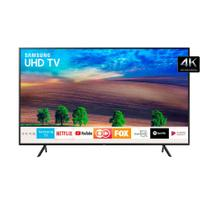 Smart TV Led 50 Ultra HD Samsung 4K UN50NU7100GXZD Wi-Fi Conversor Digital HDMI USB