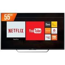 "Smart TV LED 55"" 4K Sony KD-55X7005D 4 HDMI 3 USB Wi-Fi Integrado Conversor Digital -"