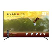 "Smart TV LED 55"" 4K TCL 55P8M 3 HDMI 2 USB Wi-Fi -"