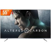 "Smart TV LED 55"" 4K UHD TCL P6US 3 HDMI 2 USB Wi-Fi Integrado Conversor Digital - Toshiba"