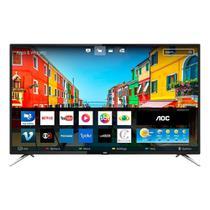"Smart TV LED 55"" AOC LE55U7970S, 4K Ultra HD, Wi-Fi, 2 USB, 4 HDMI, Sleep Timer, 60Hz -"