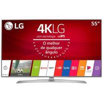 "Smart TV LED 55"" LG 55UJ6545 4K Ultra HD HDR, Wi-Fi, 120Hz, 2 USB, 4 HDMI, DTV -"