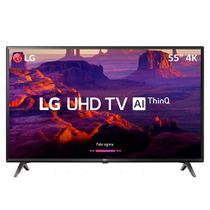"""Smart TV LED 55"""" LG 55UK631C, 4K UHD, Wi-fi, 120 HZ, 3 USB, 4 HDMI, DTV e IPS -"""