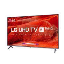 "Smart TV LED 55"" LG 55UM7520, Ultra HD 4K, ThinQ AI, WebOS 4.5, Quad Core, 2 USB, 4 HDMI -"