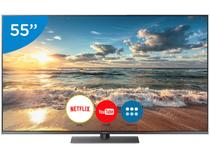 "Smart TV LED 55"" Panasonic 4K/Ultra HD - TC-55FX800B Conversor Digital Wi-Fi 4 HDMI 3 USB"