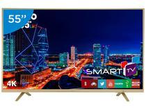 "Smart TV LED 55"" Philco 4K/Ultra HD PTV55U21DSWNC - Conversor Digital Wi-Fi 3 HDMI 2 USB"