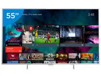 "Smart TV LED 55"" Philips 4K/Ultra HD 55PUG6801/78 - Conversor Digital Wi-Fi 4 HDMI 3 USB DTVi"