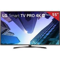 Smart TV LED 55 Pol UHD 4K LG, 4 HDMI, 2 USB, Bluetooth, Wi-Fi, HDR, ThinQ AI - 55UK631C.AWZ - Lg eletronics