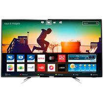 Smart TV Led 55 polegadas Philips 55PUG610278 4K Pixel Plus Ultra HD 60HZ 2 USB 4 HDMI -