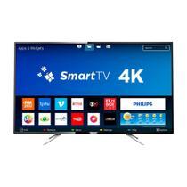 Smart TV LED 55 Polegadas Philips 55PUG610278 UHD 4K com Conversor Digital 4 HDMI 2 USB Wi-Fi 60Hz -