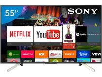 "Smart TV LED 55"" Sony 4K/Ultra HD KD-55X755F - Android Conversor Digital Wi-Fi 4 HDMI 3 USB"