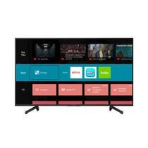 """Smart Tv Led 55"""" Sony Kd-55x705g Ultra Hd 4k Com Conversor Digital 3 Hdmi 3 Usb Wi-fi - Preta -"""
