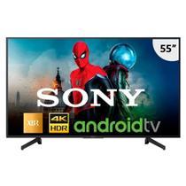 "Smart TV LED 55"" Sony XBR-55X805G 4K HDR com Wi-Fi, 3 USB, 4 HDMI, Bluetooth e Android TV -"