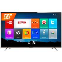 "Smart TV LED 55"" TCL 4K 3 HDMI 2 USB Wi-Fi Integrado Conversor Digital L55E5800 - Semp Toshiba"