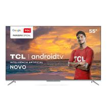 Smart TV LED 55 TCL 4K Android 3 HDMI 2 USB Wi-Fi - Semp Tcl
