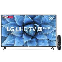 Smart TV LED 55 UHD 4K LG 55UN7310PSC Wi-Fi, Bluetooth, HDR, Controle Smart Magic - 2020 -