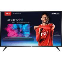 "Smart TV LED 55"" Ultra HD 4k HDRUHD 3840  2160 Conversor Integrado 3 HDMI 2 USB Wi-Fi Semp TCL -"