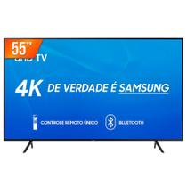 Smart TV LED 55'' Ultra HD 4K Samsung RU7100 3 HDMI 2 USB Wi-Fi