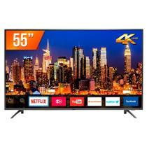 "Smart TV LED 55"" Ultra HD Philco PTV55F61SNT 3HDMI 2USB Wi-Fi -"